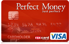 Perfect Money Visa card