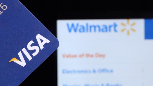 Компания Walmart отказалась от обслуживания карт Visa.