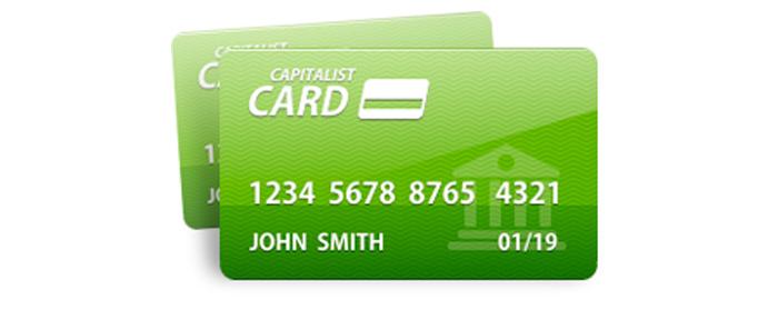 Visa Prepaid от платежной системы Capitalist