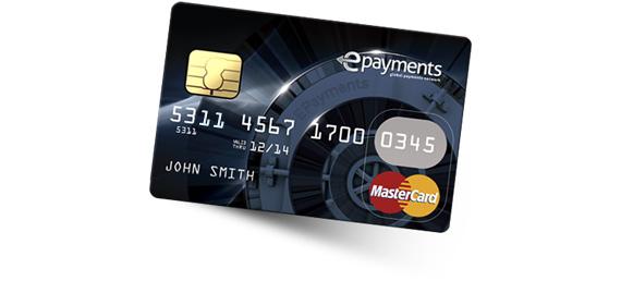 Банковская карта ePayments MasterCard