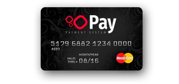 Карта «OOOPay» MasterCard