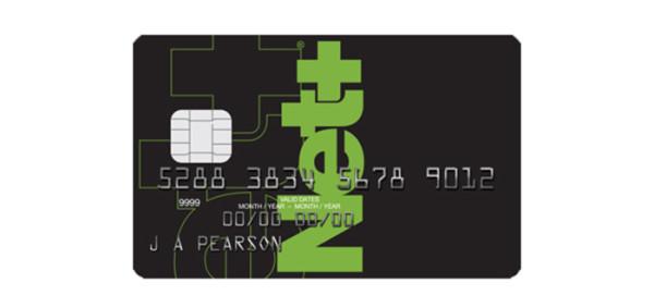 Платежная карта от сервиса Neteller