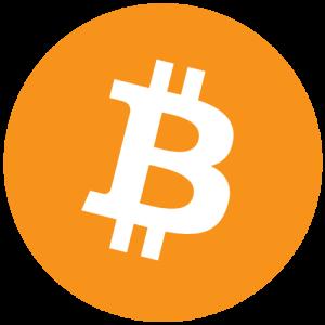 Логотип криптовалюты Bitcoin