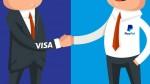 PayPal и Visa стали партнерами в сфере стратегического развития