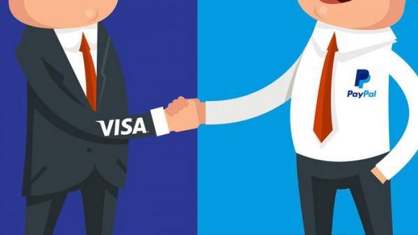 PayPal и Visa стали стратегическими партнерами