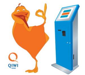 Пополнение Qiwi через терминал